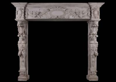 The Effect of The Renaissance on Carved Italian Chimneypieces