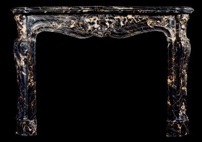 Antique French fireplaces  from chateau style to vintage chic