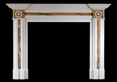 A piece of art: inlays in antique fireplaces