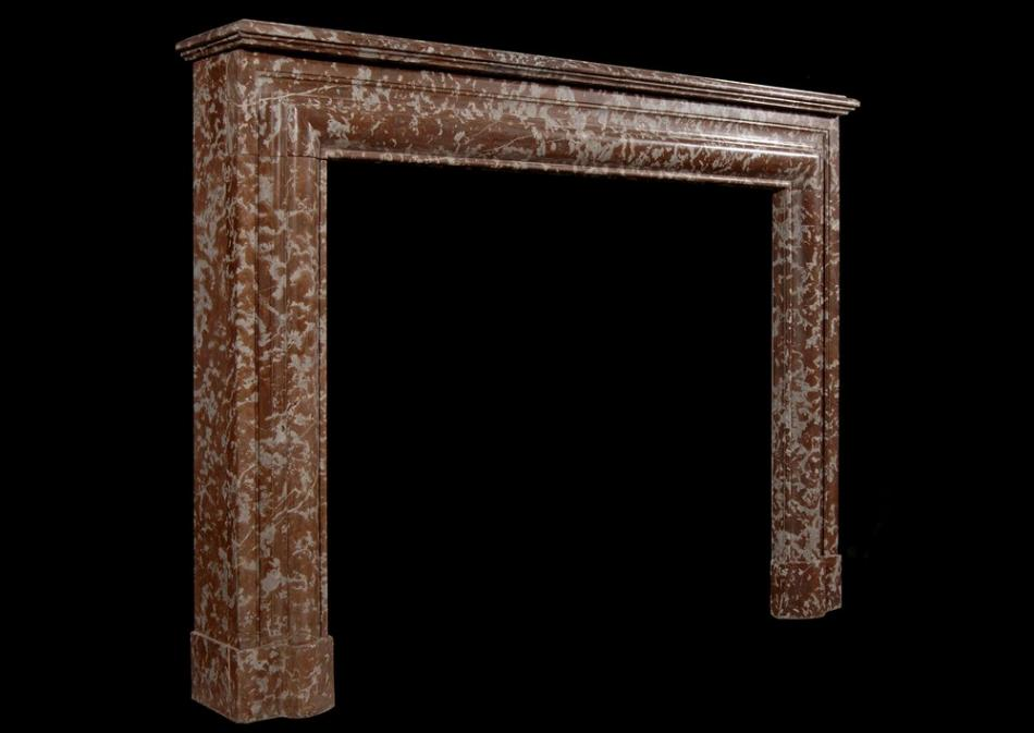 A 19th century English Rouge Royale fireplace