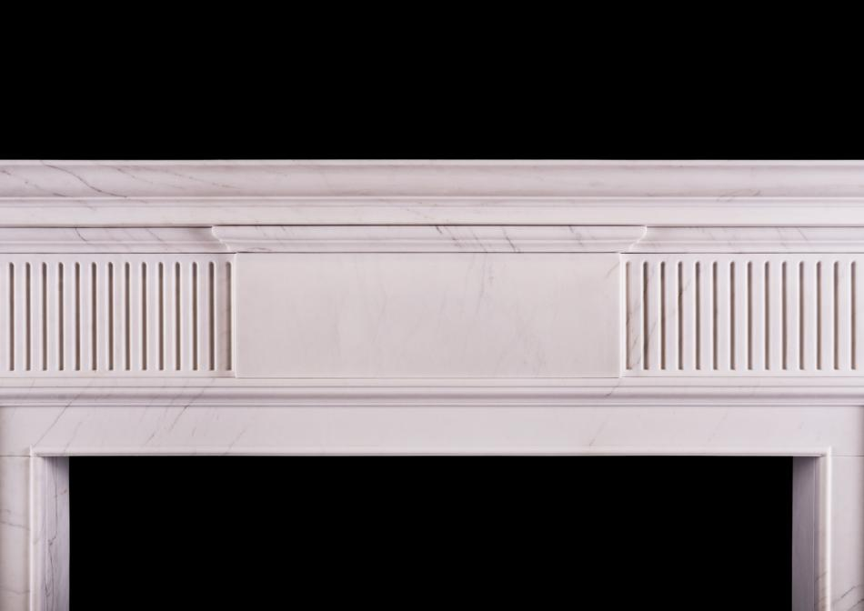 A Neo-Classical English fireplace