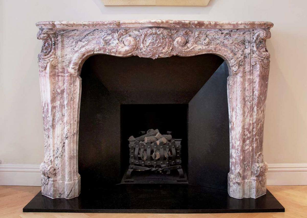 Add A Splash Of Colour With An Antique Marble Fireplace Antique Fireplaces And Surrounds