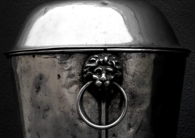 A POLISHED STEEL COAL ENGLISH BUCKET-Detail1