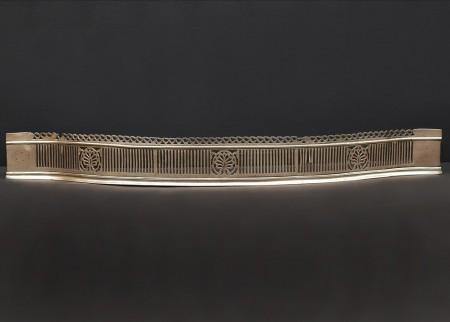 A PERIOD GEORGE III SERPENTINE FENDER