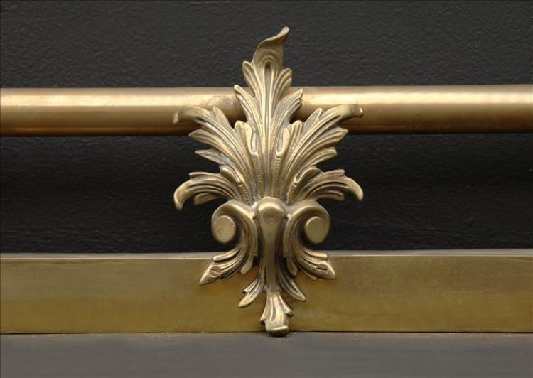 A CAST BRASS FRENCH FENDER-Detail2