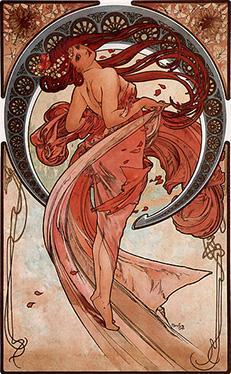369px-Alfons_Mucha_-_1898_-_Dance