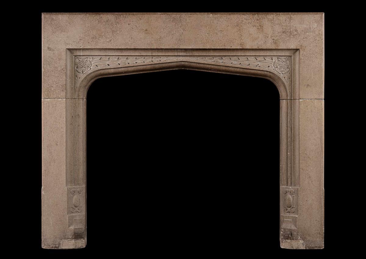 English fireplace