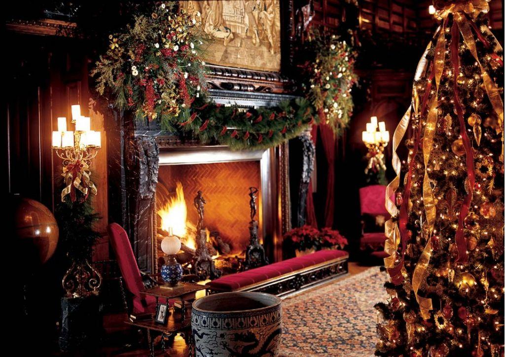 Christmas Fireplace Part - 38: Christmas Gifts