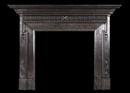 Tremendous Metal Fireplace Mantels Thornhill Galleries Home Interior And Landscaping Eliaenasavecom
