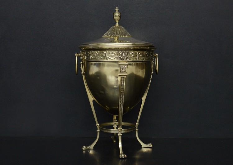A Regency style coal bucket