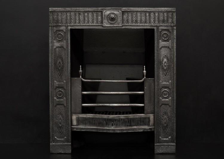 A fine quality decorative register grate